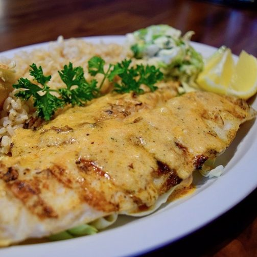 White Fish Charbroiled